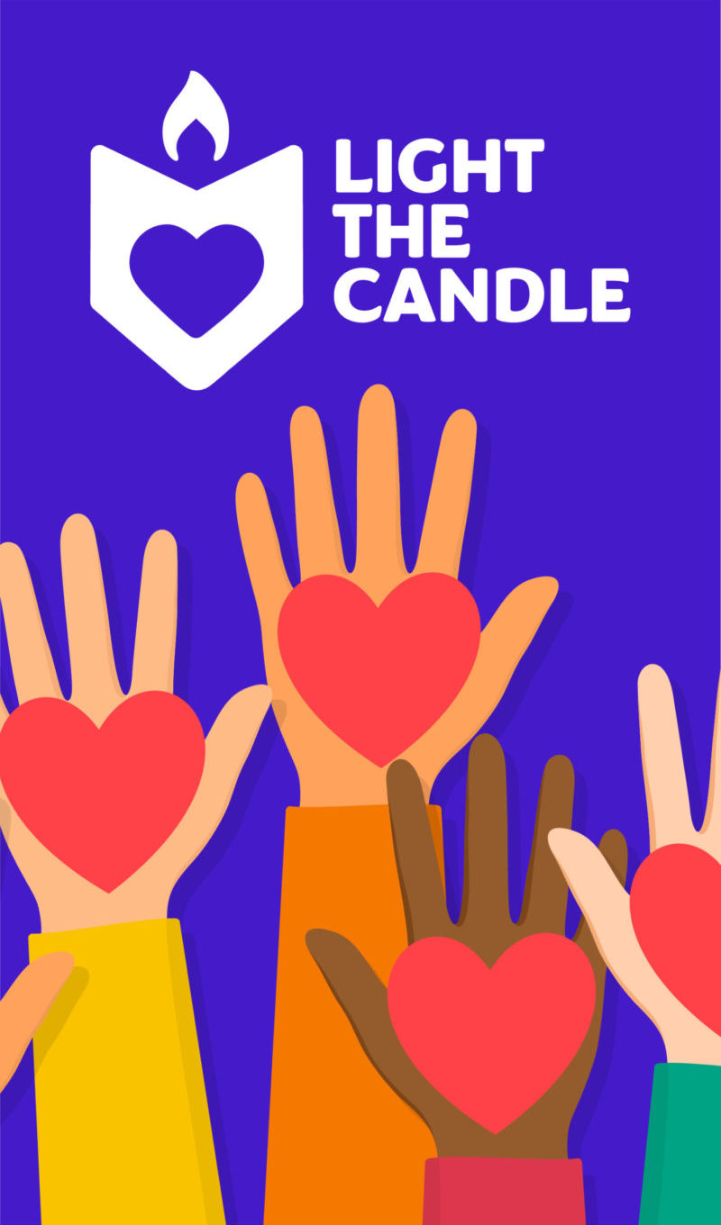 I want to Volunteer with Light the Candle